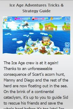 Guide Ice Age Adventures apk screenshot