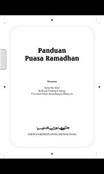 Panduan Puasa Ramadhan poster