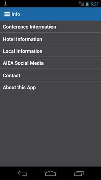 AIEA 2015 Annual Conference apk screenshot