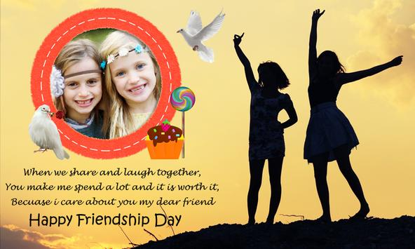 friendship day frames free poster friendship day frames free apk screenshot