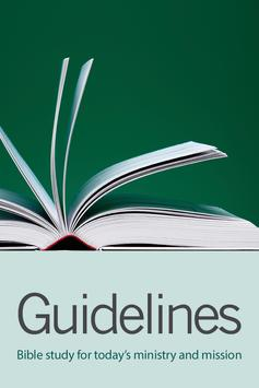 Guidelines: Bible Study poster