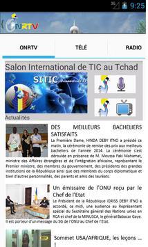 ONRTV - Tchad apk screenshot