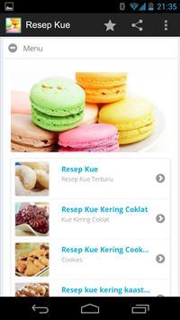 Resep Kue apk screenshot