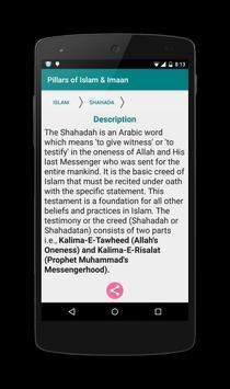 Pillars of Islam & Eemaan apk screenshot