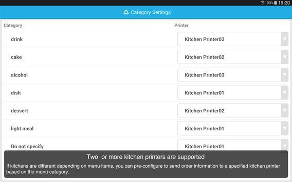 AirREGI Handheld Ordering apk screenshot