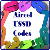 Aircel USSD Codes icon
