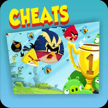 Cheats Angry Birds Friends poster