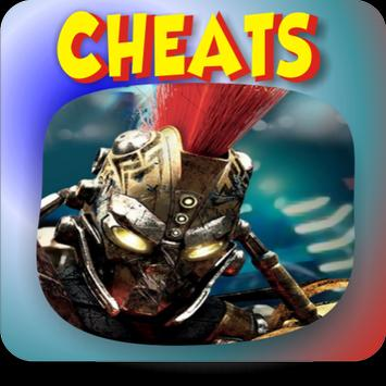 Cheats REAL Steel Robot Boxing poster