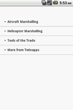Aircraft Marshalling poster