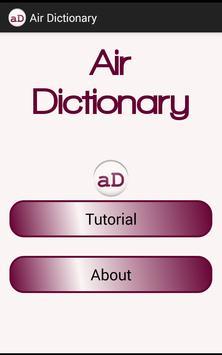 Air Dictionary apk screenshot