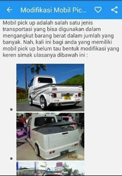 Modifikasi Mobil Pick Up poster