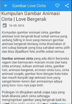 Gambar Love Cinta Wallpaper poster