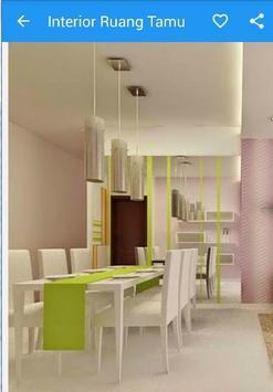 Desain Ruang Tamu Interior apk screenshot