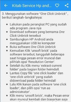 Kitab Service HP Android apk screenshot