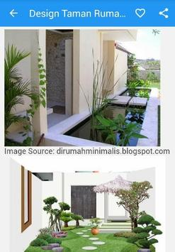 Design Taman Rumah Minimalis apk screenshot