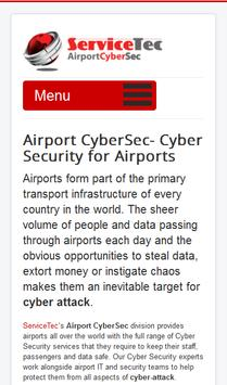 Airport Cyber Security poster