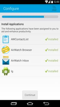 AirWatch Agent apk screenshot