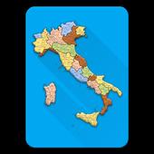Italia - Comuni, CAP, Province icon