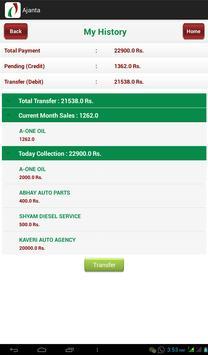 Ajanta Ordering apk screenshot