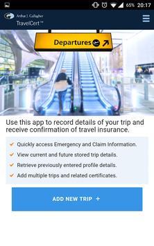AJG TravelCert apk screenshot