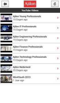 Ajilon Nederland apk screenshot