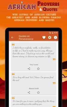 African Provebs & Quotes apk screenshot