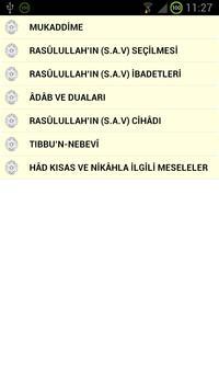 Hz Muhammedn Hayatı Zadul mead apk screenshot