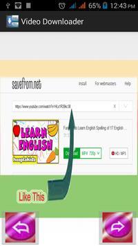 quick video downloader apk screenshot