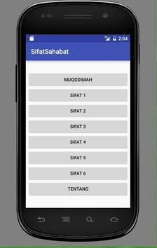 Sifat Sahabat Nabi apk screenshot