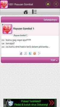 1001 Rayuan Gombal Romantis apk screenshot