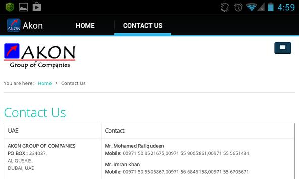 Akon Group apk screenshot