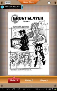 Ghost Slayer Comic apk screenshot