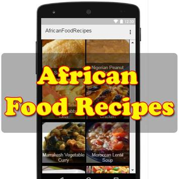 African Food Recipes poster