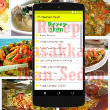 Aneka Resep Masakan Ikan apk screenshot