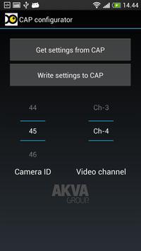 AKVA CAP configurator poster