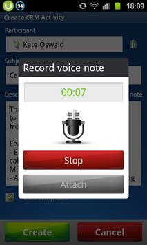 Akvelon CRM Call Tracker apk screenshot