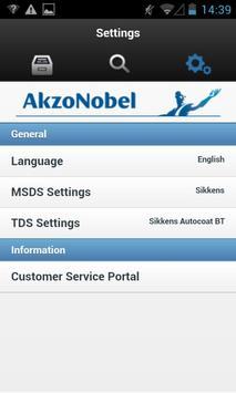 MSDS/TDS Library apk screenshot