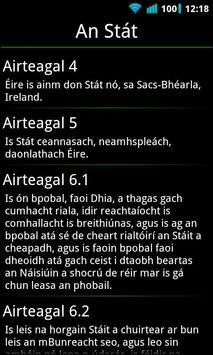 Irish Constitution apk screenshot