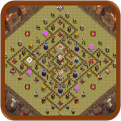 ALADROID Maps For COC icon