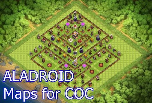 ALADROID Maps For COC poster