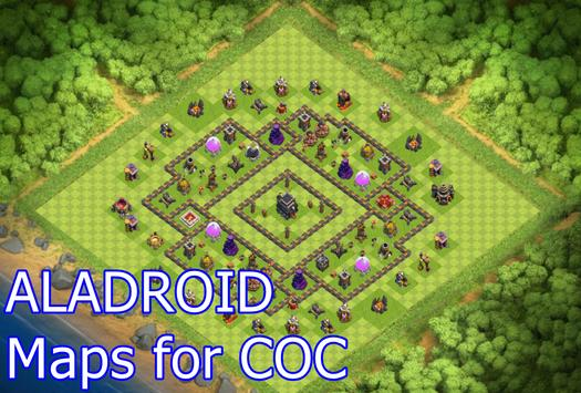 ALADROID Maps For COC apk screenshot