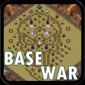 War Base COC TH 6 - TH 11 icon