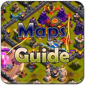 Maps Guide for Clash of Clans icon
