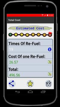 Gas Travel - Calculator poster