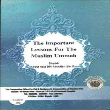 Lessons for the muslim ummah apk screenshot