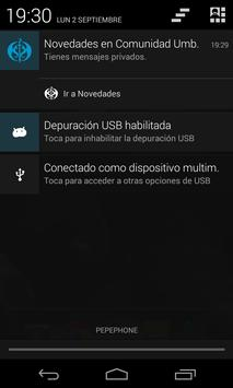 Novedades Umbría apk screenshot