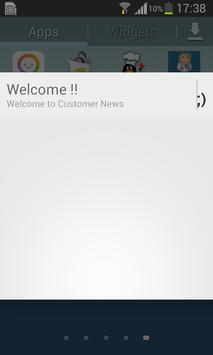 Customers News apk screenshot
