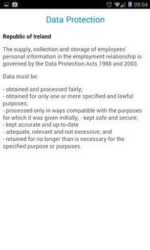 Irish HR Law apk screenshot