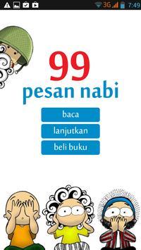 Komik 99 Pesan Nabi poster