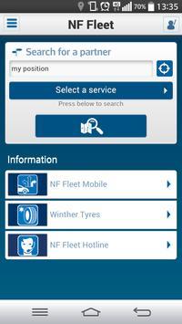 NF Fleet mobile poster